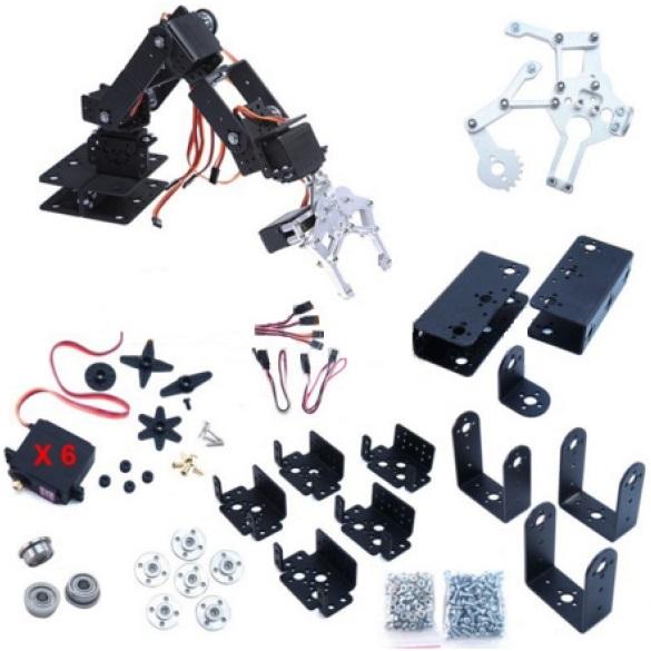 Robot Arm – 6DOF – Aluminium Kit Build Project | Anthony