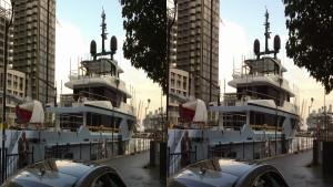 3D SBS VR Anthony Matabaro DSSV PRESSURE DROP & OCEAN DREAMWALKER III Ships @CanaryWharf West India Dock London England UK