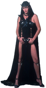 Conan The Destroyer – 1984 – Queen Taramis – Played By Sarah Douglas – 03