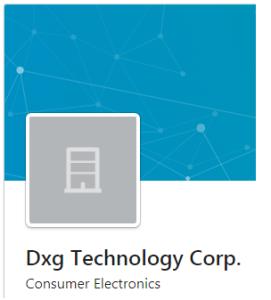 – DXG Technology Crop – Logo