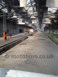 Old Oak Common Depot Closure & Demolition Of Old Rail Track Sheds For New HS2 – 2014 – GWR – Squibb