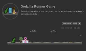 Godzilla Runner Game – Anthony Matabaro (2)